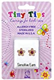 STUDEX Birthstone Tiny Tips Gold Plated October