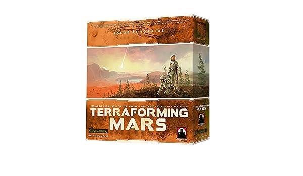 ICVDSRG Juego De Mesa Terraforming Mars All English: Amazon.es: Hogar