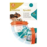 Ferplast FPI 4810 Space Curve Clear Tunnel Hamster Small Pet