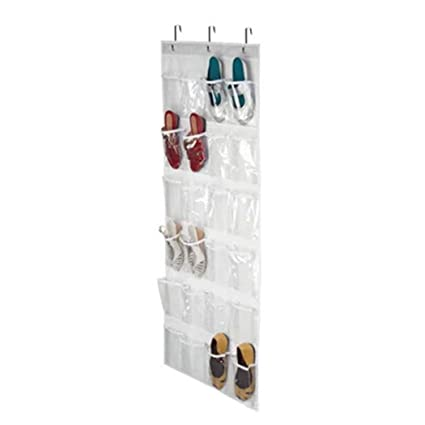 Gentil Acecor Hanging Shoe Organizer, 24 Pockets Storage Door Shoe Hanger Door  Shoe Storage Door Shoe
