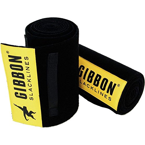 (Gibbon Slacklines Tree Wear XL Black, One)