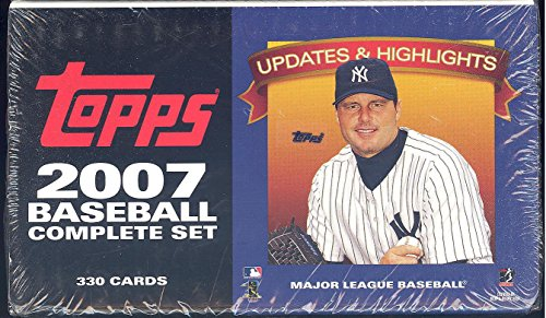 2007 Topps Baseball Traded Updates and Highlights Series Factory Sealed 330 Card Set. Loaded with Rookie Cards and Stars Including Ryan Braun, Tim Lincecum, Albert Pujols, Derek Jeter, Barry Bonds ()