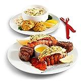 Hiware 12-piece Seafood Cracker for Lobster, Crab, Crawfish, Prawns, Shrimp - Easy Opener Shellfish Sheller Knife