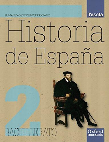 Historia de España. Bach. 2 +CD Tesela - 9788467352290: Amazon.es: Sánchez Pérez, Francisco: Libros