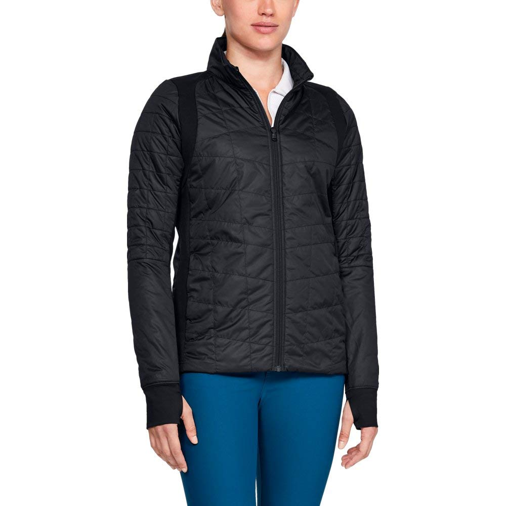 Under Armour Women's Storm Elements Insulated Jacket, Black, Small