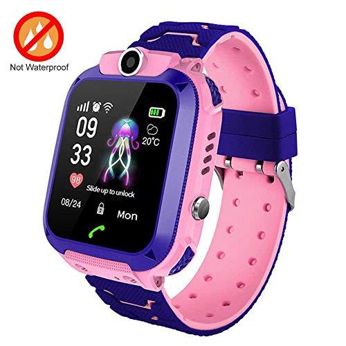 FOONEE Kinder GPS Tracker Watch, Smart Watch Phone für 3-12 Jahre Kinder Kleinkinder Jungen Mädchen, 1,44 Zoll HD…