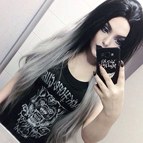 Heaha (Black To Purple Hair)