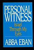 Personal Witness, Abba Eban, 0399135898