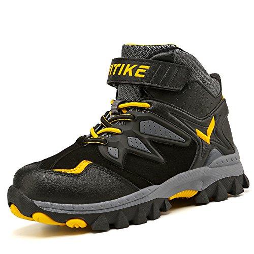 777d3d7d8490b Chaussures en coton pour enfants Bottes de neige d hiver Chaussures de  randonnée Bottes de montagne Sporty Confortable Randonnée en plein air  Trekking ...