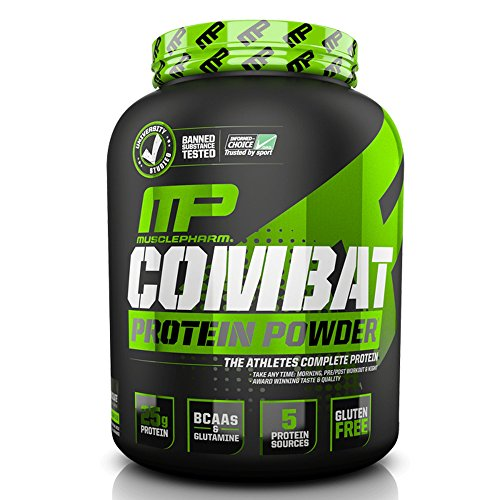 Smores Combat (Muscle Pharm Combat Powder Advanced Time Release Protein, S'mores, 4 Pound)