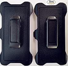 Replacement Belt Clip Holster for OtterBox Defender Series Case Samsung Galaxy S10 Plus (2 Pack)
