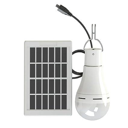 SKTWOE 9W Solar portátil LED luz de Camping Linterna de ...