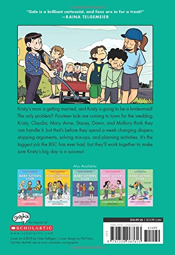 Kristy's Big Day (The Baby-Sitters Club Graphic Novel #6): A Graphix Book (Full-Color Edition) (6) (The Baby-Sitters Club Graphic Novels)