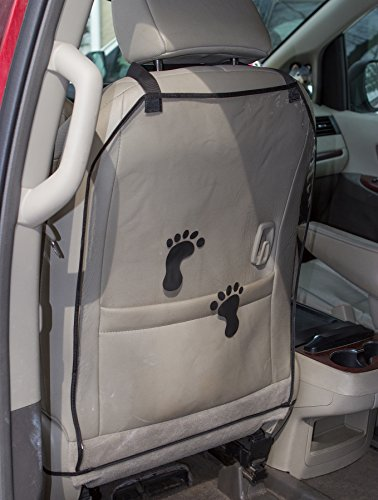 "Car Seat Protector Kick Mats, 2 PACK - 18"" x 24"" - Protects"