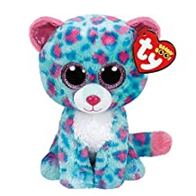 Ty Beanie Boos Sydney Leopard Medium Plush 9 (Claire's Exclusive) by Ty Beanie Boos