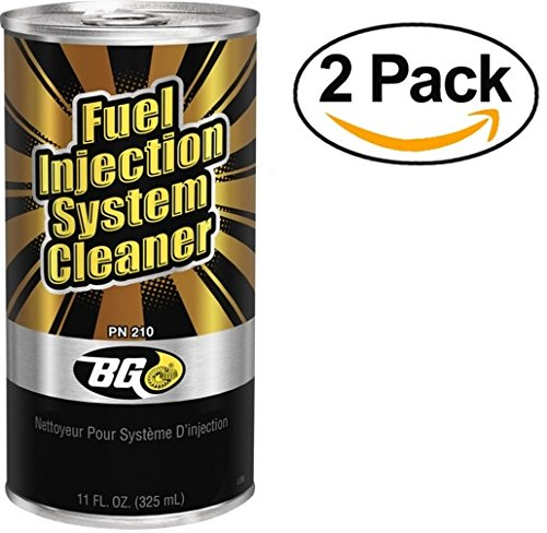 BG Products Fuel Injection System Cleaner PN 210 - 2 Pack