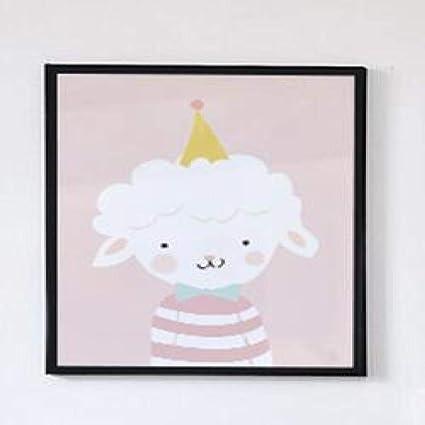 Geiqianjiumai Niña nórdica niños Dibujos Animados ovejas ...