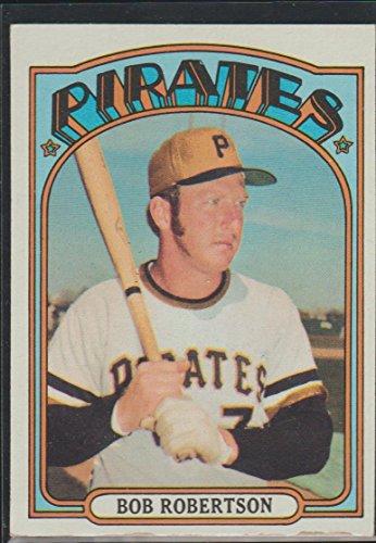 1972 Topps Bob Robertson Pirates Baseball Card #429