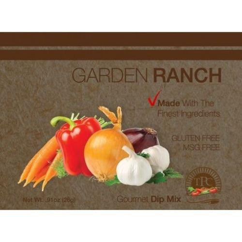 The Pantry Club Garden Ranch Gourmet Dip Mix, 0.91 Ounce -- 12 per case.
