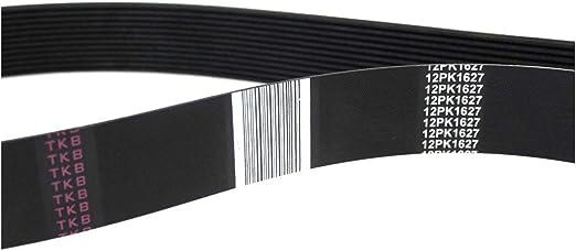 D/&D PowerDrive 966383 Volvo Replacement Belt Rubber