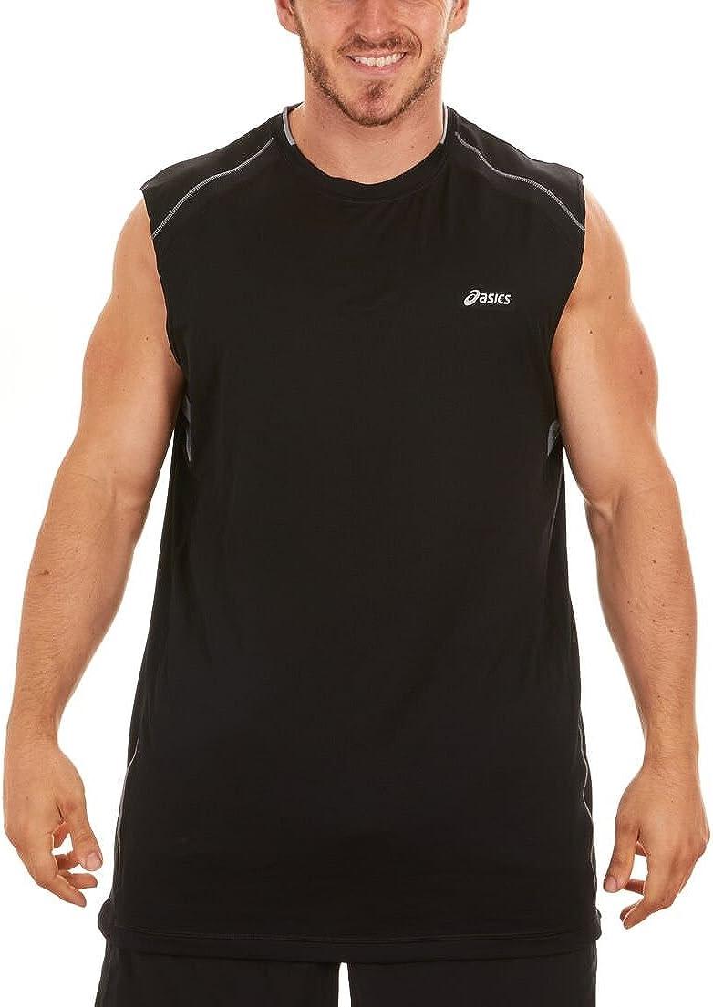 ASICS Camiseta sin Mangas de Running sin Mangas para Hombre XX ...