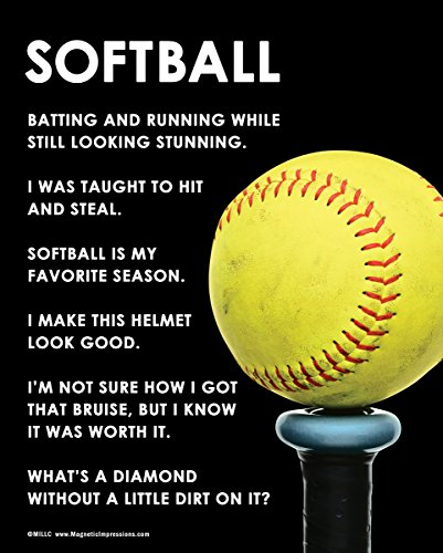 Posters and Prints by Magnetic Impressions Unframed Softball Bat 8