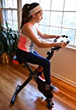 Exercise-Upright-Magnetic-Cycling-Bike-Fitness-Machine-Foldable-With-Pulse-Sensors-and-LCD-Display-Max-Capacity-300-Lbs