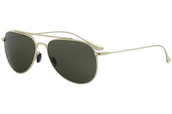 31b0d238ff4d Image Unavailable. Image not available for. Color  Vuarnet Men s Swing Pilot  VL1627 VL 1627 0004 Gold Titanium Sunglasses 59mm