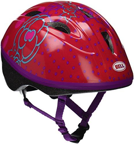 Flowers Helmet - Bell Toddler Red Jump House Flowers Zoomer Helmet