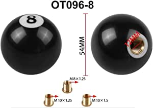 QXFD sale car Dragon ball Gear Shift Knob Racing Stick Cool Acrylic Shift Knob for universal car (Color : Ot096 8)