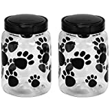 Snapware Airtight Food Storage Pet Treat Canister, 9.8 Cup, 2-Pack Review