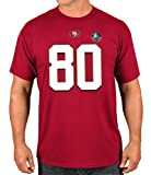 """Jerry Rice San Francisco 49ers Majestic NFL """"HOF Eligible Receiver 4"""" T-Shirt"""