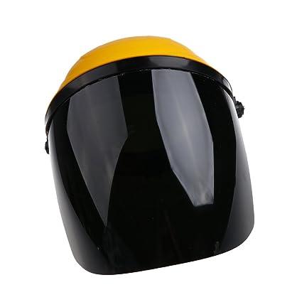 Baoblaze Casco de Policarbonato Montado de Seguridad Accesorios de Manualidad Coser Reparar Bricolaje - gris,