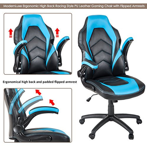 51VJaroEkCL - ModernLuxe-Ergonomic-High-Back-Racing-Style-PU-Leather-Gaming-Chair-with-Flipped-Armrests