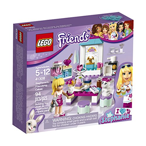 LEGO Friends Stephanie's Friendship Cakes 41308 Building Kit (Lego Storage Friends Brick)