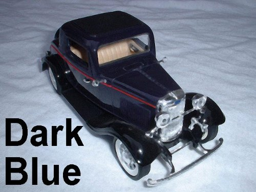 NEW Ford Metal Die-Cast 2 Dr Coupe w/ Rumble Seat Car 1:30 Toy 6