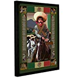 ArtWall Rick Kersten's Zapata Gallery-Wrapped Floater-Framed Canvas, 18 by 24-Inch