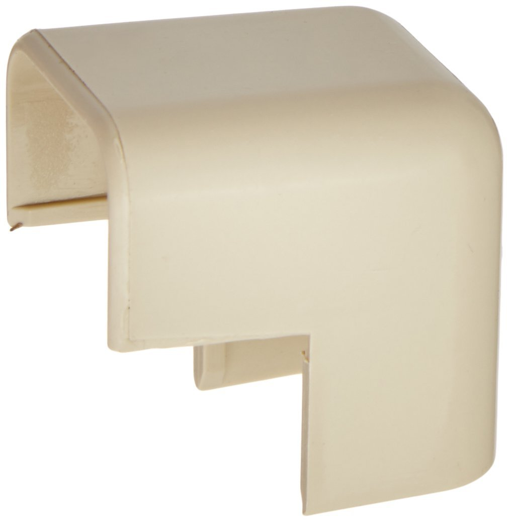 C2G/Cables to Go 13366 Tyton Raceway Outside Corner, Ivory (.75 Inch)