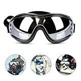 Pet Dog Sunglasses, Dog Goggles for UV Protection Pet Decorations Eyes Protective Accessories Windproof Waterproof for Medium to Large Dog