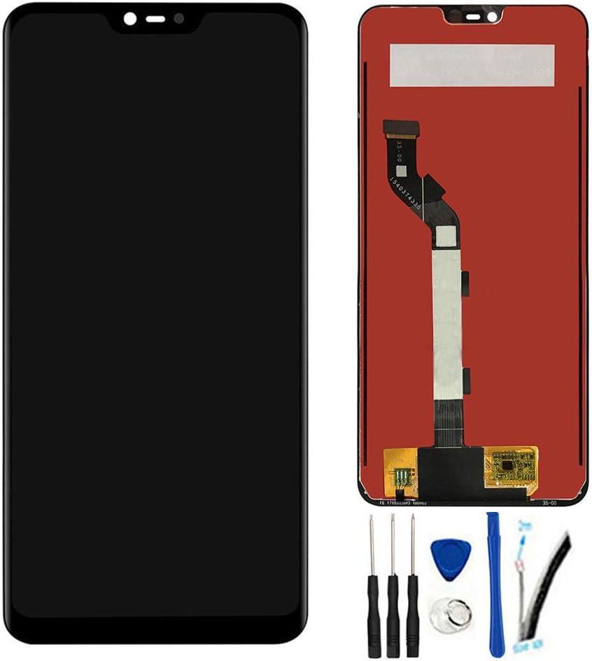 SOMEFUN Visualización LCD Digitizador Pantalla táctil Vidrio Panel Montaje Reemplazo para Xiaomi Mi 8 Lite / Mi8 Youth Mi8x Mi 8X 6.26 Negro
