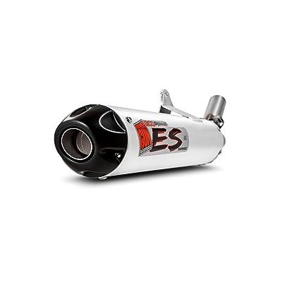 Big Gun Exhaust 07-1232 ECO ATV Silver Slip On Exhaust for Yamaha: Automotive [5Bkhe1510289]
