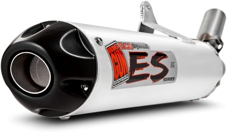 Big Gun Exhaust 07-1232 ECO ATV Silver Slip for Yamaha