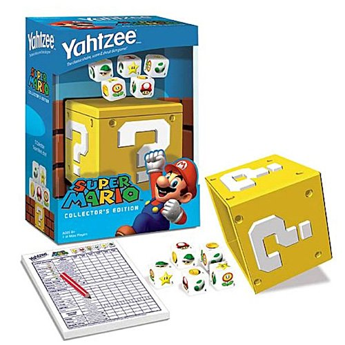 Super Mario Collector's Edition Yahtzee by Super Mario Brothers