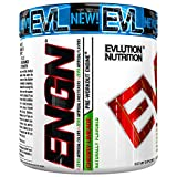 Evlution Nutrition ENGN Pre-Workout, Pikatropin-Free, 25 Servings, Intense Pre-Workout Powder for Increased Energy, Power, and Focus (Naturally Flavored Cherry Limeade)