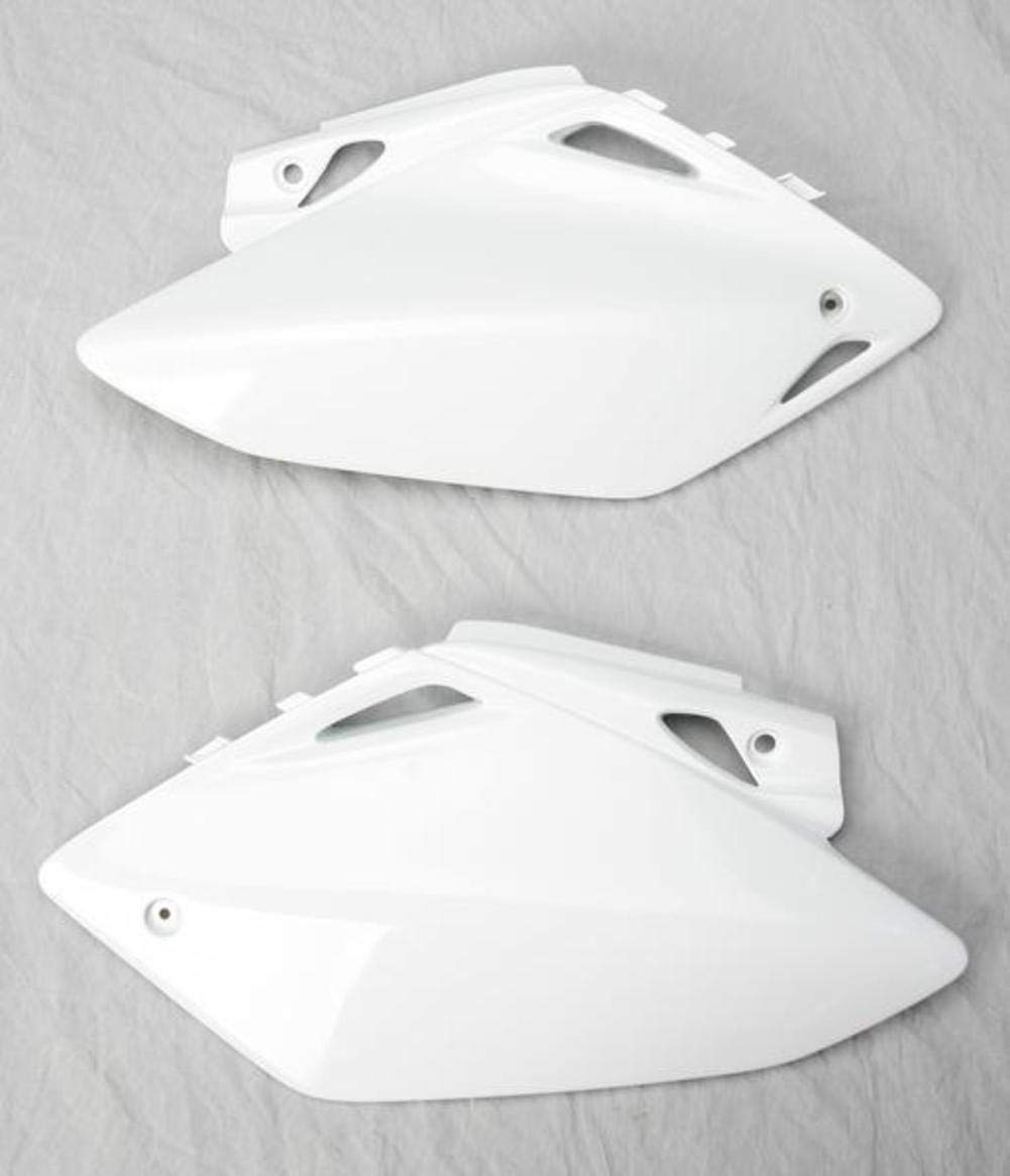 FOR HONDA PANEL SIDE CRF450 05 WHITE UFO HO03656-041 Replacement Plastic