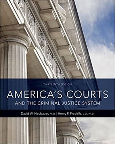 America's Courts and the Criminal Justice System: David W