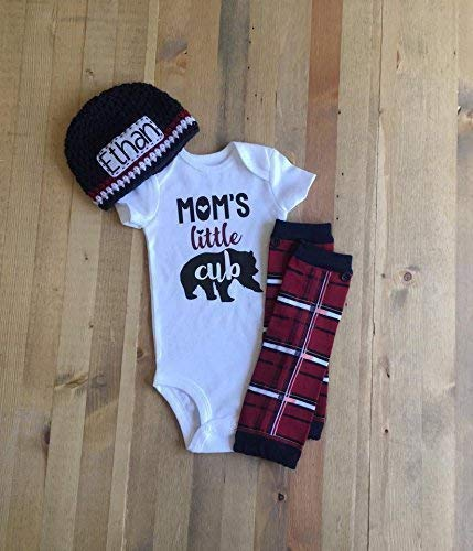 e809f9c5c46 Amazon.com  Newborn Boy Mommy and Me Outfit