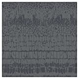HaokHome 900208 Black/Pearlized Black Wallpaper Two-Tone Color Decoration for Home Accent Wall 20.8''x 33ft