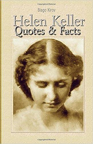 Helen Keller: Quotes & Facts: Blago Kirov: 9781508474227 ...