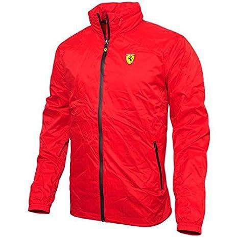 Ferrari Vento Breaker Rosso Colore Formula 1 Mensgiacca Uomo 1vRq7w1